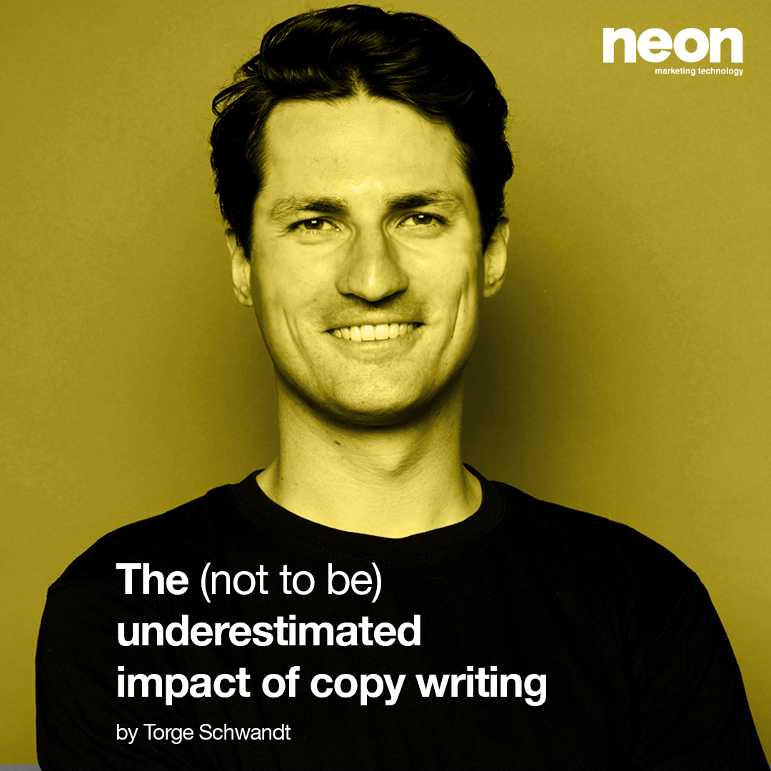 The (not to be) underestimated impact of copy writing