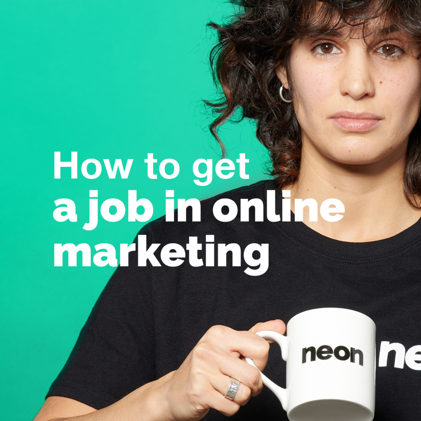 How to get a job in online marketing