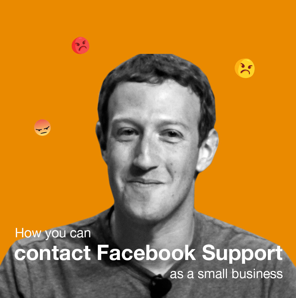 How you can contact Facebook Support