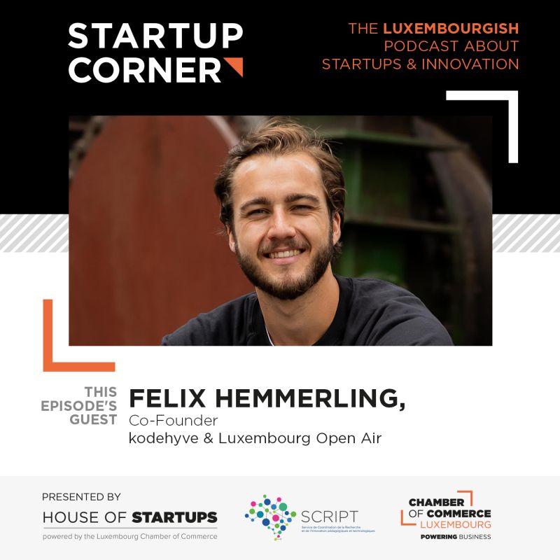 Startup Corner - Felix Hemmerling - kodehyve