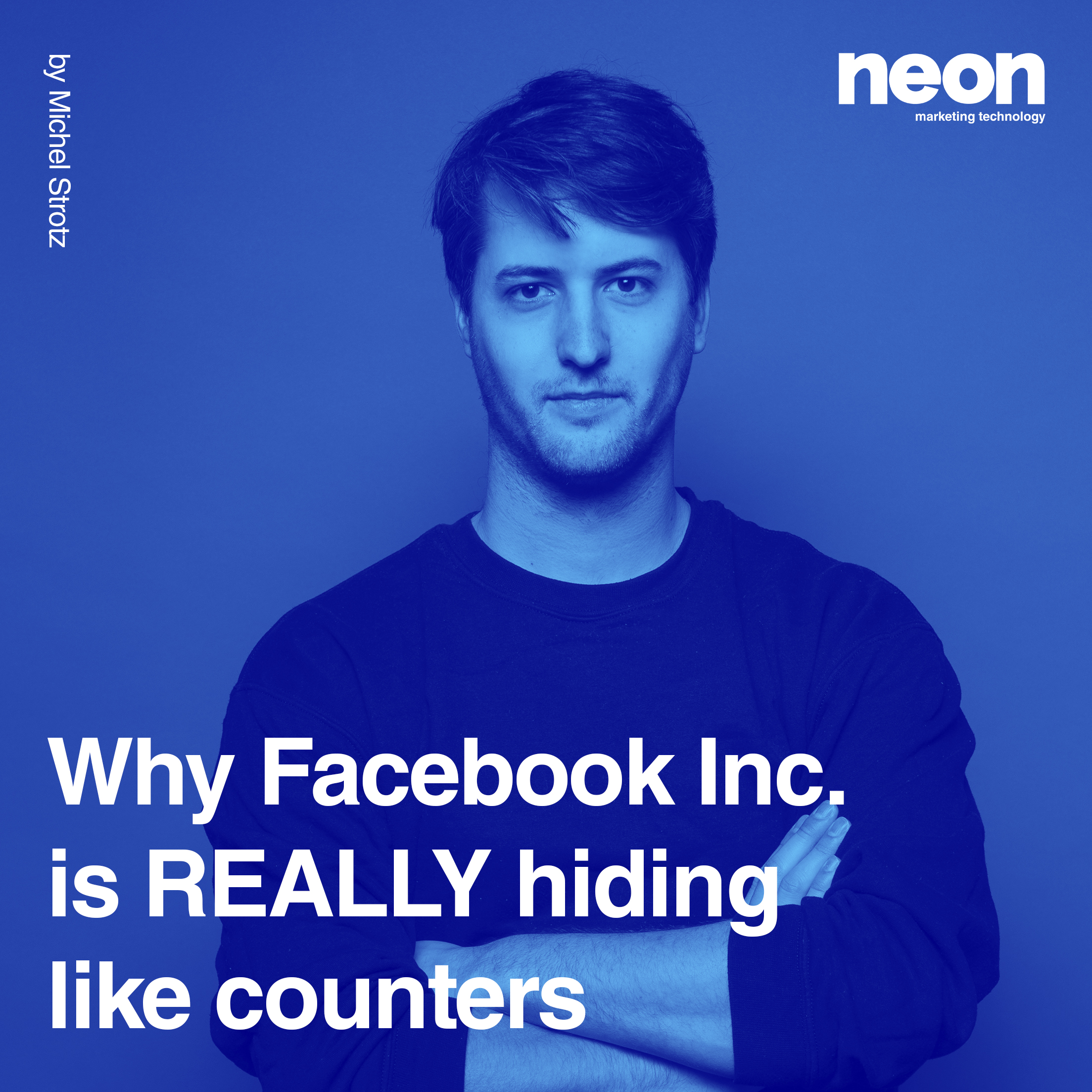 Why Facebook Inc. is really hiding like counters.