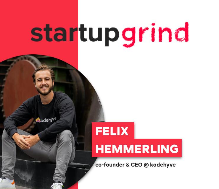Startup Grind hosts Felix Hemmerling